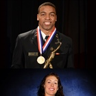 Keenan Reynolds and Breanna Stewart, 86th Annual AAU Sullivan Award Winners